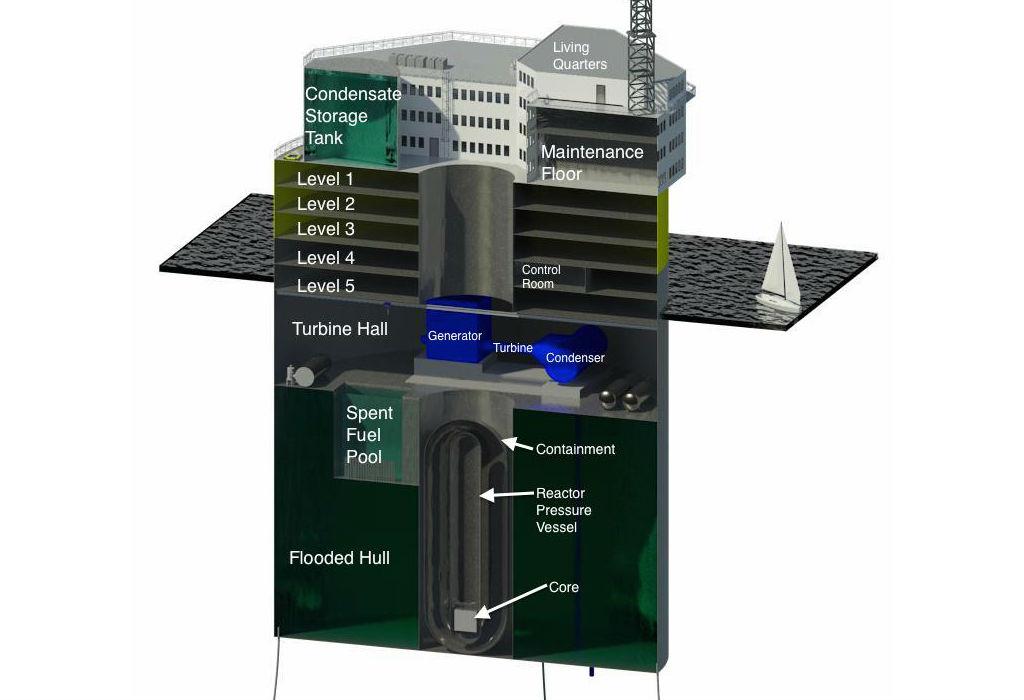 MIT yüzen nükleer santral