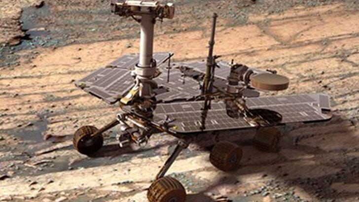 Mars'a giden robotta hafıza kaybı