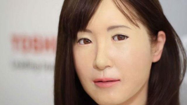 Toshiba Android Robot