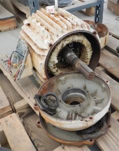 elektrik motorlarında kapak arızası