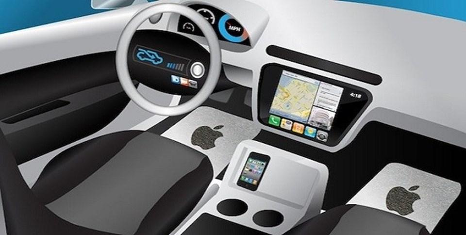 Apple'ın elektrikli aracının çizimleri olduğu iddia edilen bu resim dışında, projeye ait bir detay bulunmuyor.