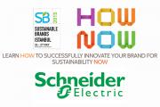 Schneider Electric, 2015 Sürdürülebilir Markalar Konferansı'na katılıyor