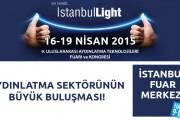Aydınlatma sektöründeki buluşma noktası İstanbulLight!
