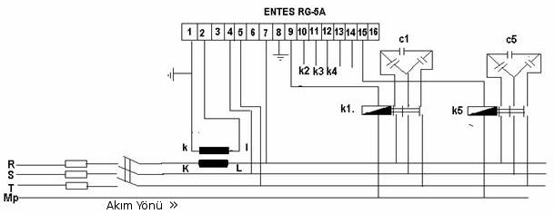 akım trafosu bağlantı şeması