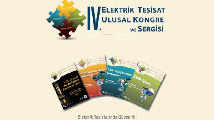 IV. Elektrik Tesisat Ulusal Kongre ve Sergisi