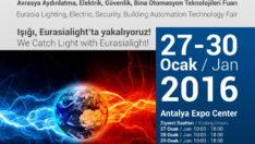 Avrasya Aydınlatma ve Elektrik Fuarı Antalya'da Kapılarını Açıyor