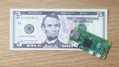 Raspberry Pi 5$ lık Zero Modeliyle Yine En Uygun Bilgisayar