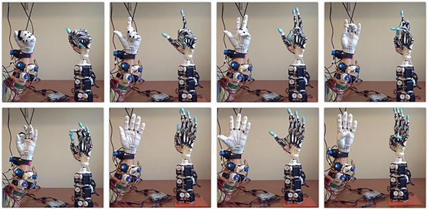 Anotamik robotik el hareketleri