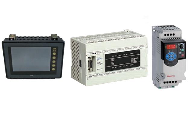 Panel Hakko, NX7- PLC ve PowerFlex 4M AC Sürücü Ortak Kullanımı