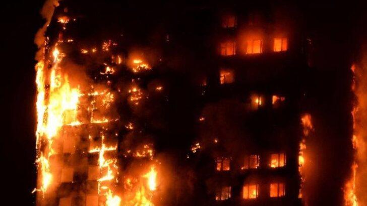 Türkiye'de Yapıların %85'i Yangına Elverişli