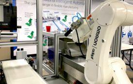 OMRON'un yeni İnovasyon Laboratuvarı robotik üretim konseptleri sunuyor